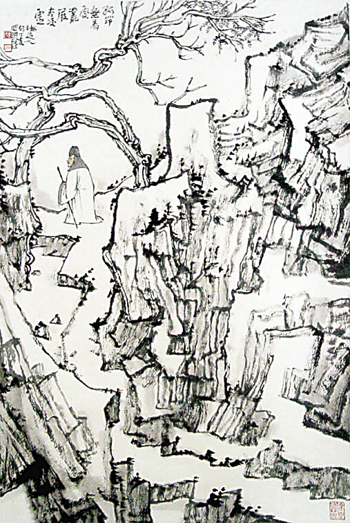 金心明 - 山水馆 - 假如你走来--柳国金美术工作