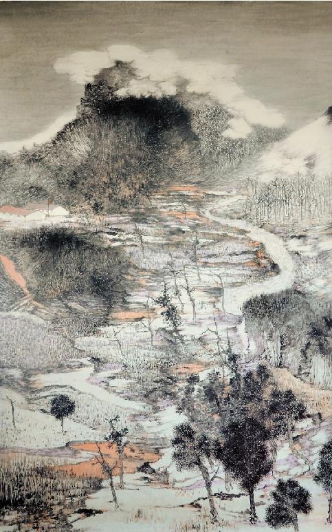 王贵华 山水 193×133cm图片